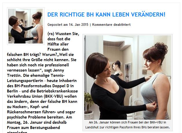 Doppel D in der Internetzeitung regio-aktuell24