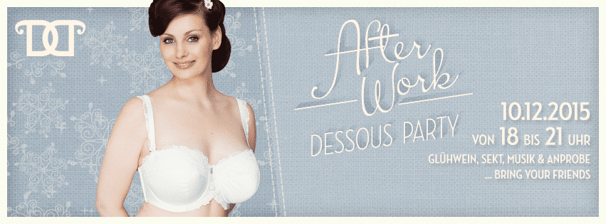 After-Work Dessous-Party bei Doppel D in Berlin Charlottenburg am 10.12.2015 bis