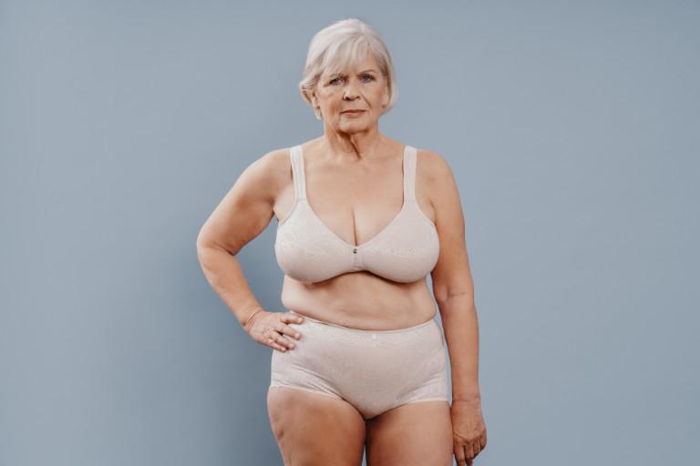 Alte Frauen Brüste