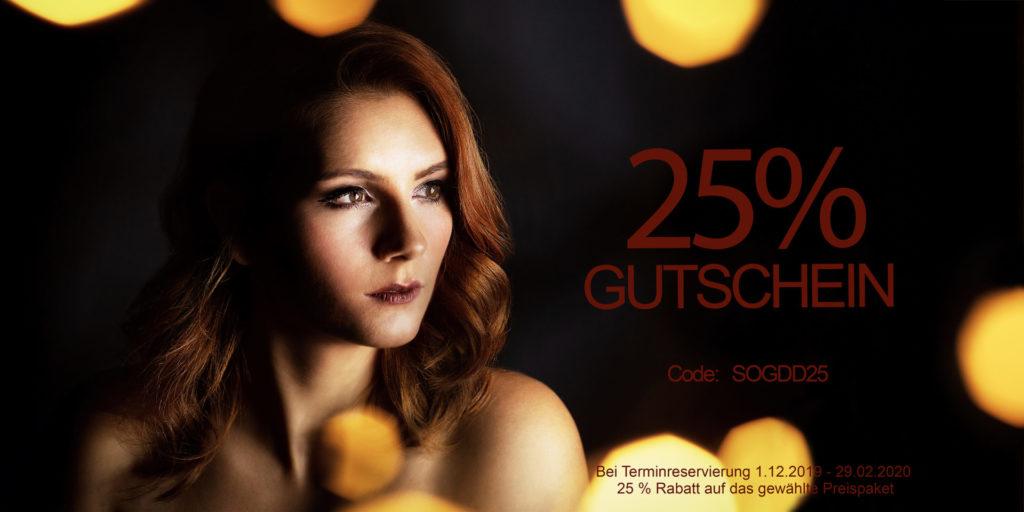 25% Gutschein für Silk over Glas